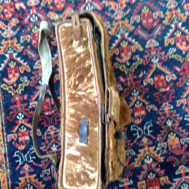 Austrian Leather & Reindeer Skin Backpack - Image 6 of 7