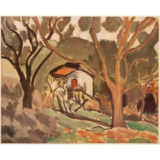 """1940s Henri Matisse """"Southern Landscape"""", First Edition Swiss Lithograph For Sale"""