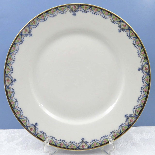 Vintage Mismatched Luncheon Plates - Set of 4 - Image 5 of 8