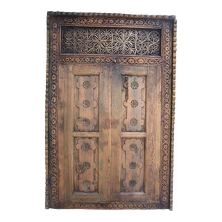 1900s Antique Moroccan Window For Sale