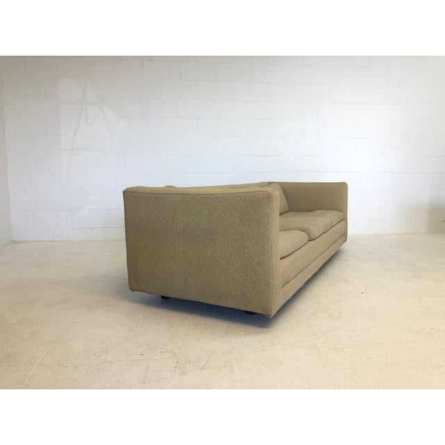 Harvey Probber Mid Century Harvey Probber Floating 3 Cushion Sofa For Sale - Image 4 of 7