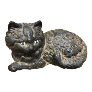 Iron Cat Door Stop For Sale