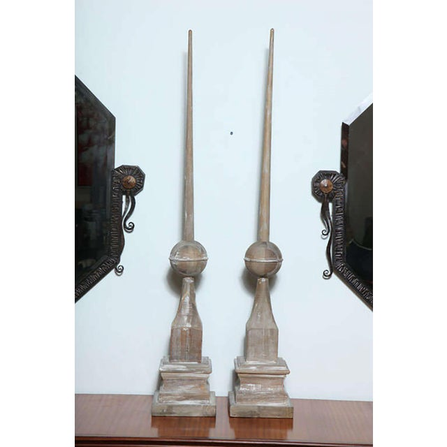 Pair of Wood Architectural Elements - Image 9 of 9