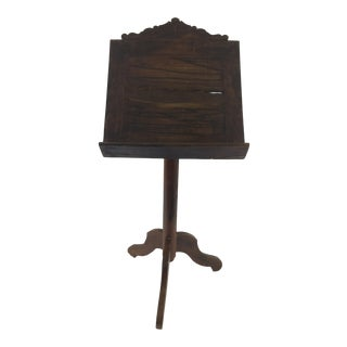 19th Century Rosewood Lectern