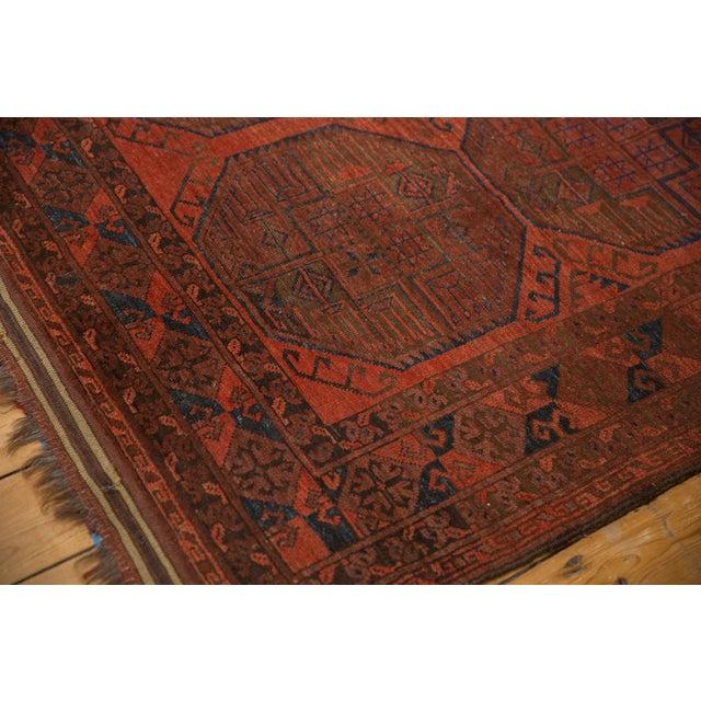 """Textile Vintage Ersari Carpet - 7'6"""" X 11'4"""" For Sale - Image 7 of 12"""