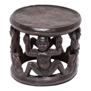 Cameroonian Bamileke Stool For Sale