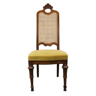 Late 20th Century Vintage Drexel Heritage Estorada Southwestern Style Dining Side Chair For Sale