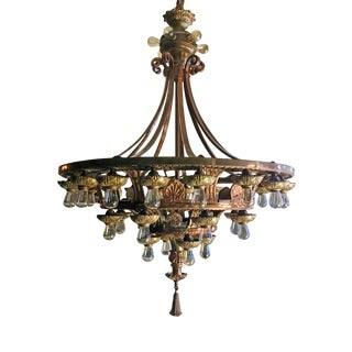 Chandelier - Beaux Arts Style For Sale