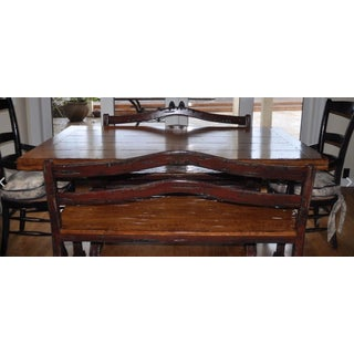 Brittany Hill Ltd Handmade Custom Made Country Dining Table & Benches Preview