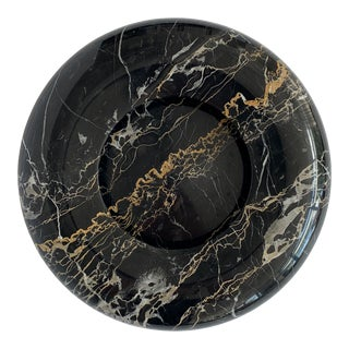 Nero Portoro Marble Bowl by Sergio Asti for Up & Up For Sale
