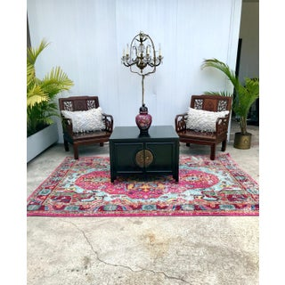 Vintage Asian Ming Style Square Coffee Table Preview