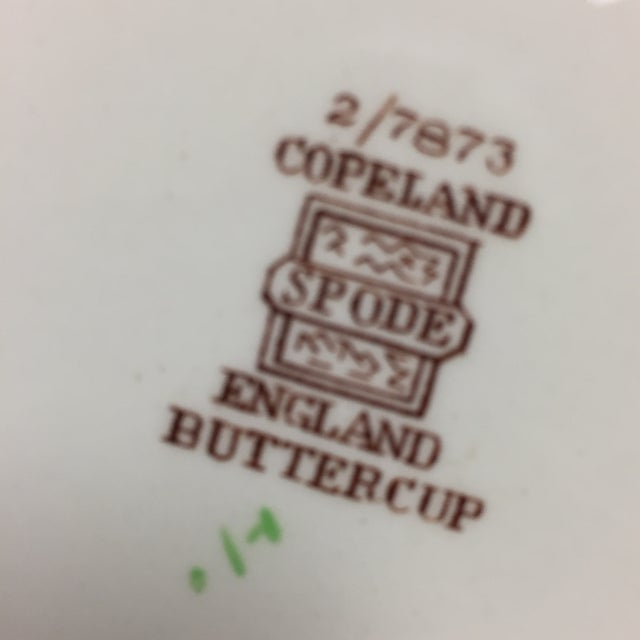 Ceramic Spode Copeland Iconic Buttercup Large Oval Serving Platter For Sale - Image 7 of 8