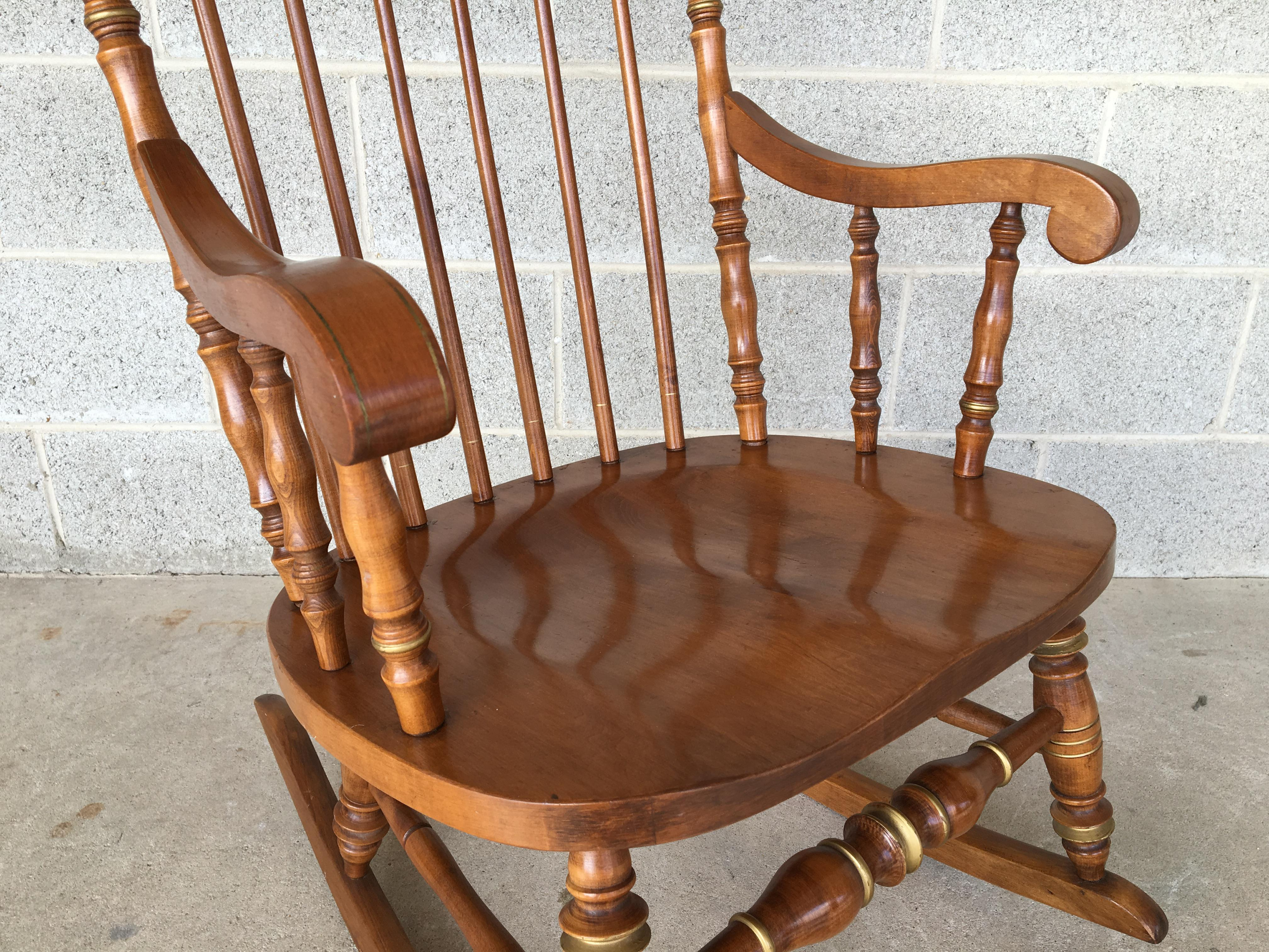 Ethan Allen Cape Cod Rocking Chair   Image 6 Of 10