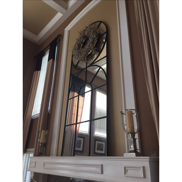 Early 21st Century Bobo Intriguing Objects Iron Cathedral Mirror For Sale - Image 5 of 11
