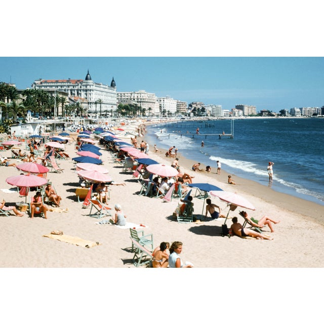 1950s Vintage French Riviera Limited Edition Photograph For Sale - Image 4 of 4