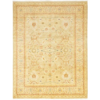 "Oda, Oushak Area Rug - 9' 3"" X 11' 10"" For Sale"