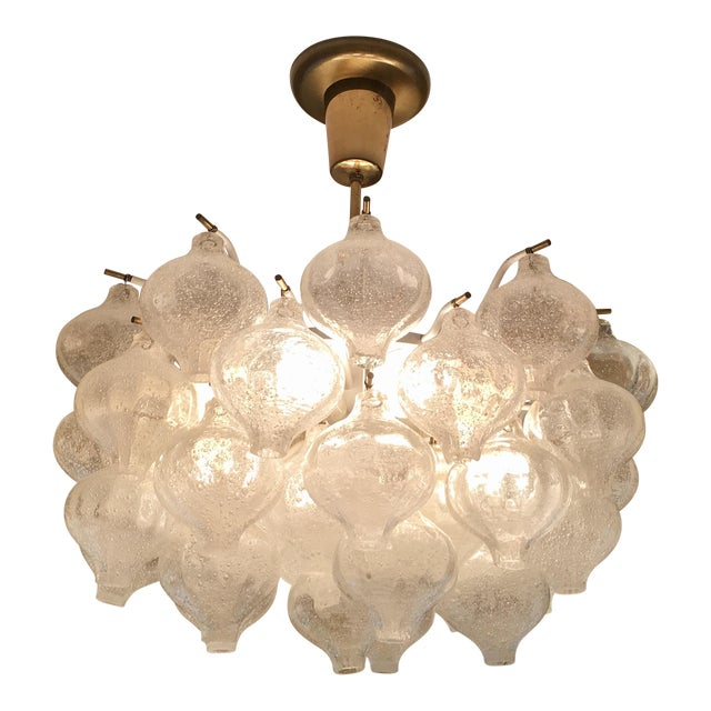 "Austrian ""Tulipan"" Chandelier by Kalmar - Image 1 of 7"