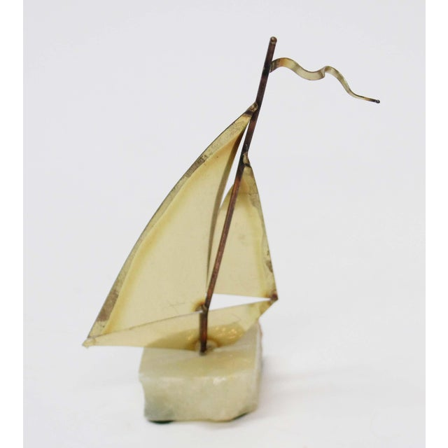 John Perry Brass Boats - Set of 3 For Sale - Image 9 of 9