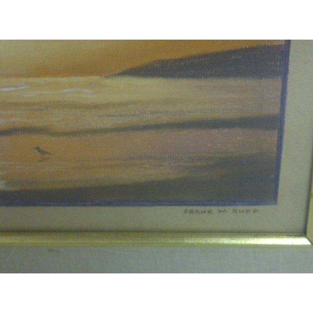 """""""Ocean at Sunset"""", Pastel Painting by Frank Rupp - Image 4 of 6"""