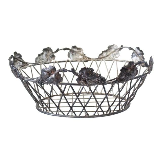 Vintage Wire Basket For Sale