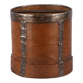 Early 20th Century French Wooden Grain Measure For Sale