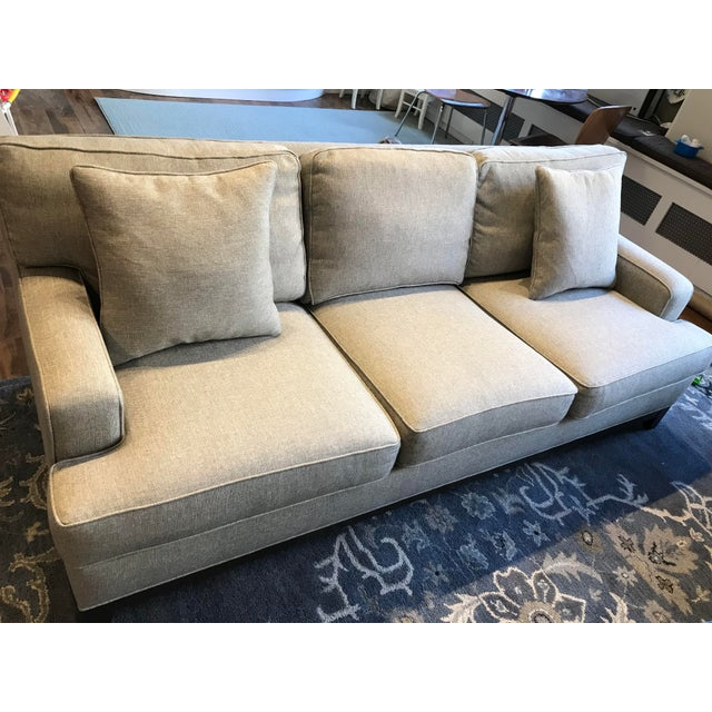 Fabric Ethan Allen Arcata Sofa For Sale - Image 7 of 11