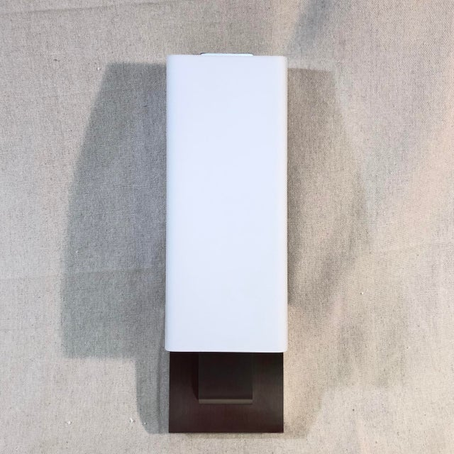 Tech Lighting Kisdon Wall Sconce in Satin Nickel For Sale - Image 12 of 12