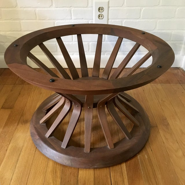 Edward Wormley Style Sheaf of Wheat Coffee Table For Sale - Image 11 of 12