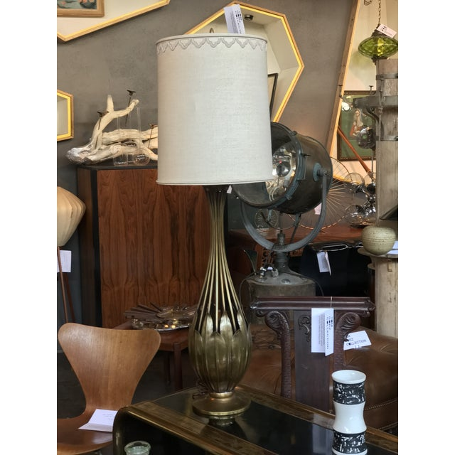 Hans Grag Bronze Table Lamp For Sale - Image 4 of 5