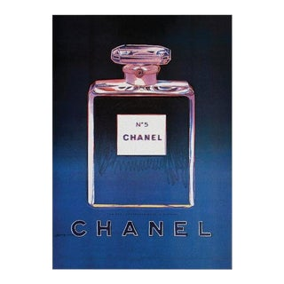 Vintage Warhol Chanel No 5 Poster For Sale