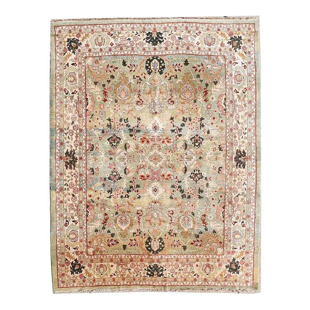 "Indo Persian Tabriz 152""x219"" For Sale"