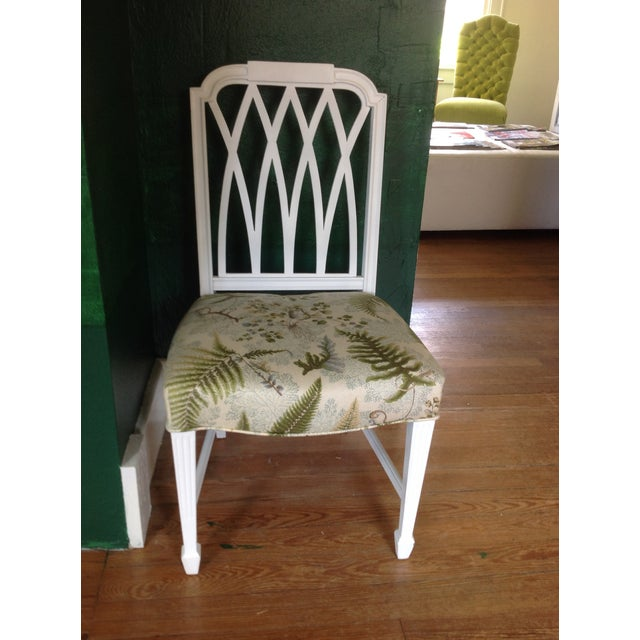Vintage Painted Side Chair - Image 2 of 5