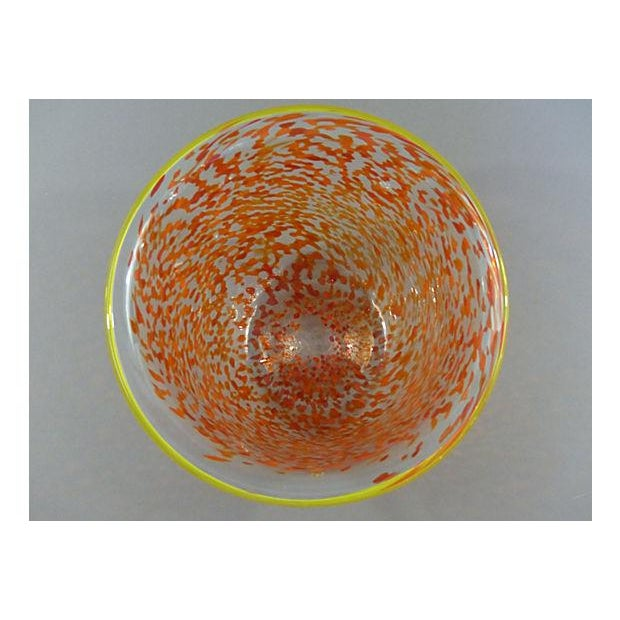 Studio Art Glass Vessel Signed Stifon Weber - Image 8 of 8