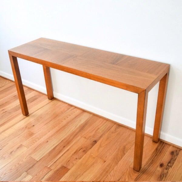 Mid-Century Vintage Lane Sofa Console Table - Image 2 of 9