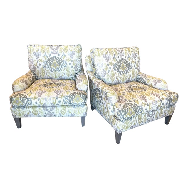 Lee Industries Lounge Chairs- a Pair For Sale