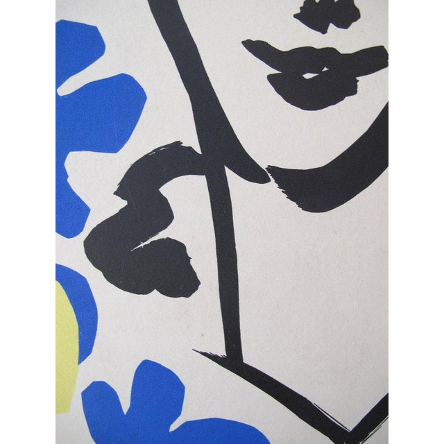 Date: 1953 Size: 28 x 20 inches Artist: Matisse, Henri An exceptional exhibition poster in excellent condition from one of...