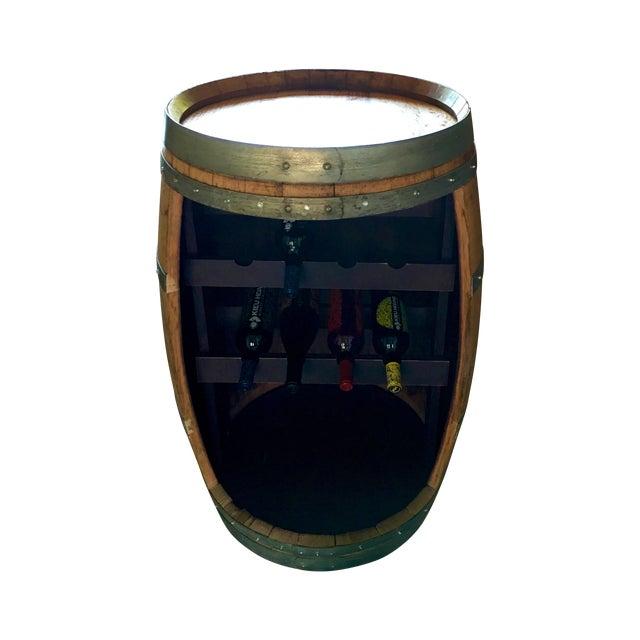 Barrel Form Wine Rack Bar - Image 1 of 3