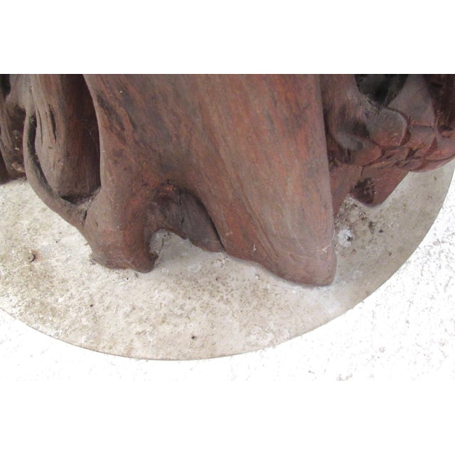 Large Tribal Hand Carved Sculpture For Sale - Image 9 of 11