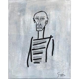 "Soren Grau ""Concrete Bohemian"" Original Painting For Sale"