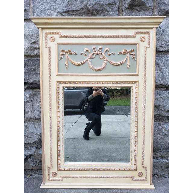 VintageFrench Provincial Style Mirror For Sale - Image 13 of 13