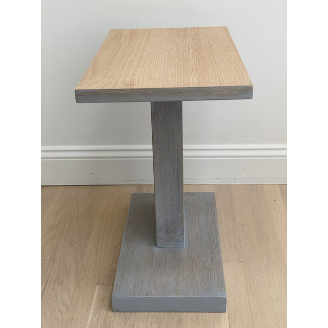 Architectural Modern Side Table For Sale - Image 12 of 12