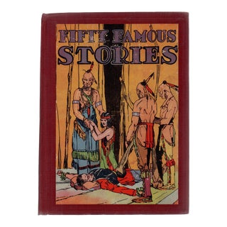 """1920 """"Fifty Famous Stories"""" For Sale"""