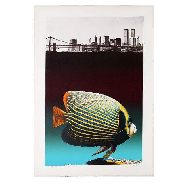 Michael Knigin - Silent Waters Serigraph - Image 1 of 1