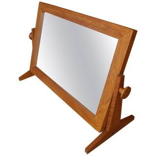 Danish Modern Table or Shoe Mirror in Teak by Pedersen & Hansen, 1960s For Sale