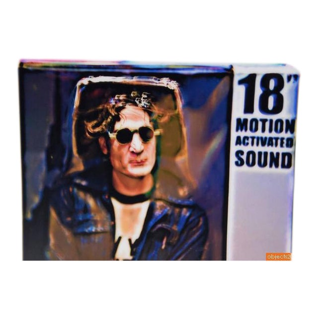 "2000 - 2009 Limited Edition ""John Lennon"" C-Print Signed Maxx Hermann For Sale - Image 5 of 5"