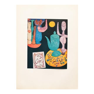1955 Paul Klee, Still Life First Edition Lithograph For Sale