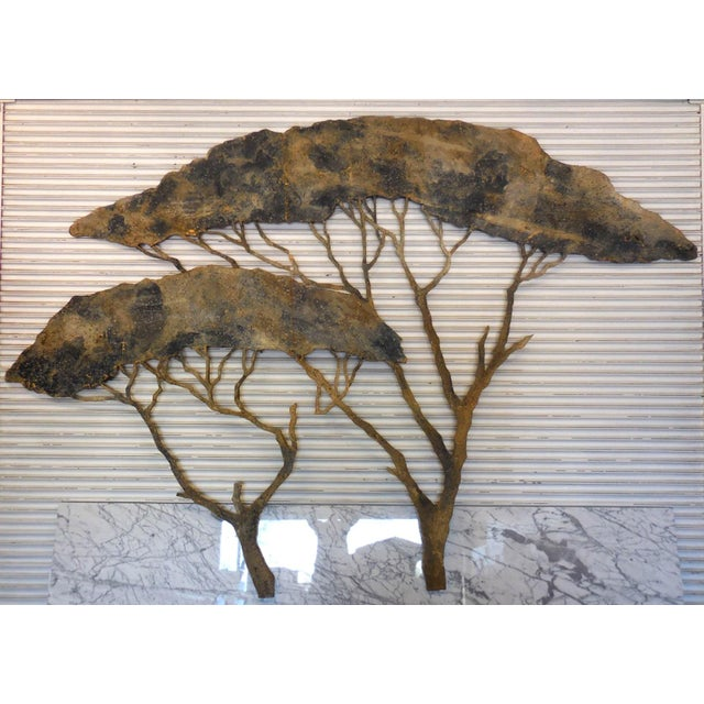 20th Century Theatre Scenery Trees Wall Sculpture For Sale - Image 11 of 11