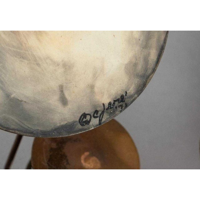 Curtis Jere Curtis Jere Raindrop Mirror For Sale - Image 4 of 6