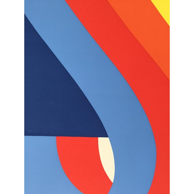 Nadine Pardo 1972 Abstract Silkscreen For Sale In New York - Image 6 of 9