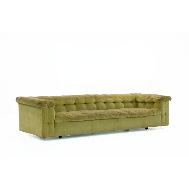 Mid-Century Modern 1950s Mid-Century Modern Edward Wormley for Dunbar Party Sofas - a Pair For Sale - Image 3 of 6